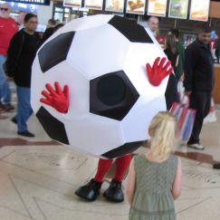 Football walkabout act