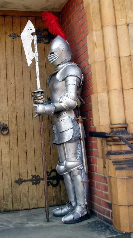 Living Knight Suit Of Armour Statues Flaming Fun Event
