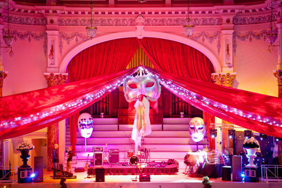 Venetian Masquerade Theme Decorations And Props Flaming
