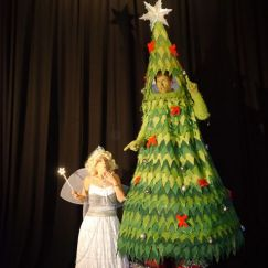 Christmas Tree Stiltwalker