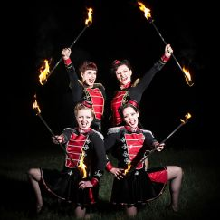 The Dangerettes - All girl fire show