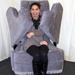 Living Human Chair