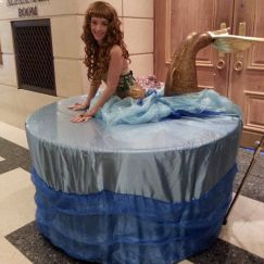 Mermaid Living Human Table
