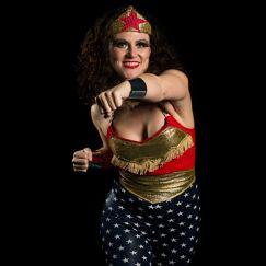 Wonderwoman Hula Hoop Show