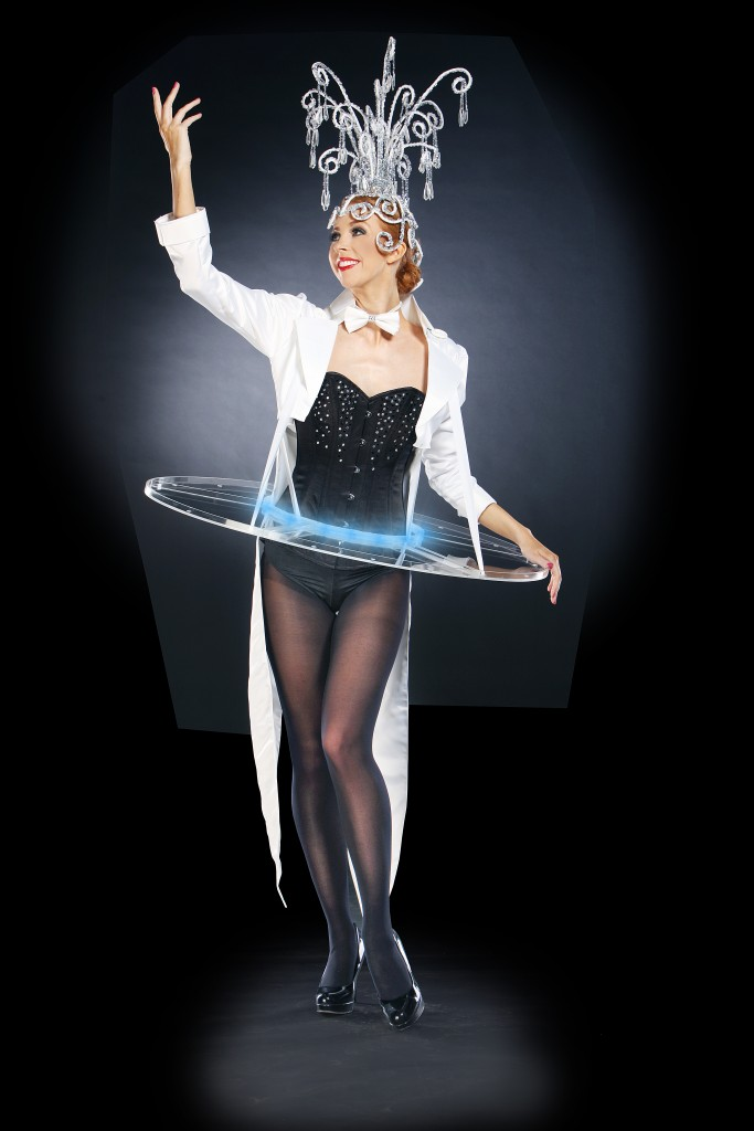 Crystal canape hostesses flaming fun event entertainment for Perspex canape trays