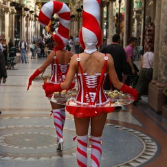 Gravitylive - Canape Hostesses - The Candy Girls 1