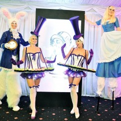 Gravitylive - Canape Hostesses - The Parma Violets 1