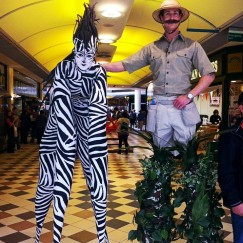 Stilt Walkers - Jungle Explorer 2