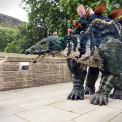 Stegosaur The Dinosaur Walk About Act 4