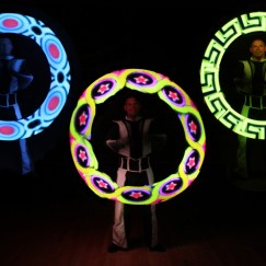 Graphic-LED-light-show