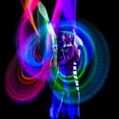 Glow Juggling Fade