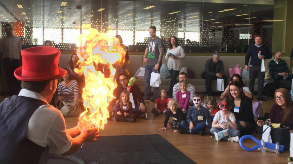 Image result for fire show in kids party