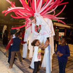 Balloon costume pink