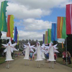 Star Stilts ATN Flags